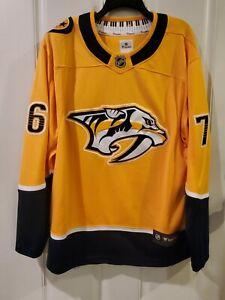 PK Subban Nashville Predators NHL Fanatics Sewn Hockey Jersey Size L NWT