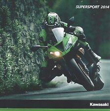 Kawasaki Supersport Motorcycle Brochure 2014 - Ninja ZX-10R + Ninja ZX-6R / 636