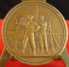 Médaille Entrainement militaire Military Training circa 1900 Fc Desaide Medal 铜牌