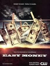 EASY MONEY Movie POSTER 27x40 Joe Peracchio Kimberly Estrada Chris Browning