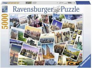 RAVENSBURGER PUZZLE*5000 TEILE*NEW YORK THE CITY NEVER SLEEPS*NEU+OVP
