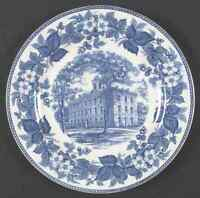 Wedgwood UPPER IOWA UNIVERSITY BLUE College Hall Dinner Plate 6737952
