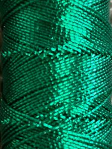 Green Rayon Embroidery Thread Unbranded