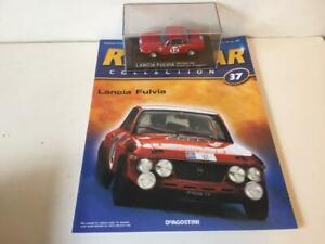 IXO  Lancia Fulvia, Rally Car..1/43. Diecast model - ISSUE 37 DeAGOSTINI .