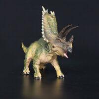 "7"" Jurassic Realistic Pentaceratops Triceratops Dinosaur Figure Kids Toy Gift"