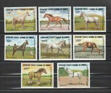 Timbres avec 8 timbres sur chevaux