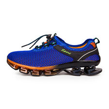 Mens Fashion Breathable Running Shoes Shock Absorb Non Slip Walking Sports Shoes