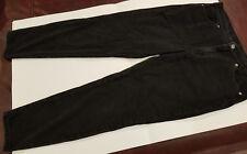 J. JILL Womens 12 Black Authentic Fit Slim Leg Jeans Soft Stretch Cotton Denim
