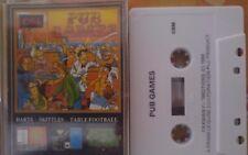Pub Games CASSETTA c64 (Box, Tape, manual) 100% Ok-Prism Leisure (Classic)