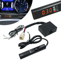 Universal APEXI Car Auto Turbo Timer For NA & Black Pen Control Red Led Display