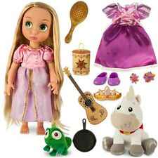 Tangled Rapunzel Doll Gift Set NIB 16 Inch Disney Princess  Animators'