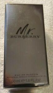 MR. BURBERRY by Burberry 1.6 OZ EAU DE PARFUM SPRAY NEW in Box for Men