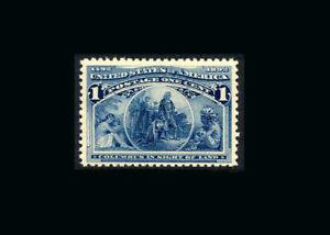 US Stamp Mint original gum never hinged, XF S#230-LARGE MARGINS