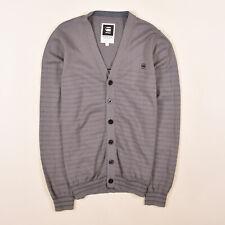 G-Star Herren Cardigan Pullover Sweater Gr.M (wie S) Morton Grau 84557