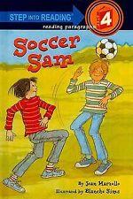 Soccer Sam (Step Into Reading: A Step 4 Book)-ExLibrary