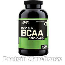 Optimum Nutrition Bcaa 1000 200 / 400 Capsules Caps Branched Chain Amino Energy