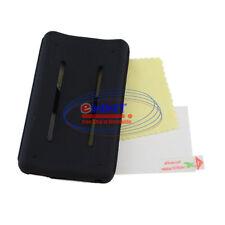 FREE SHIP für iPod Classic 80GB 120GB Schwarz Silikon Cover Hülle +Folie ZVSF385