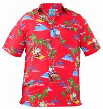 Men TF Xmas Shirt H50148-red L