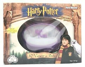 VERY RARE 2001 HARRY POTTER SORCERER'S STONE VIEW MASTER GIFT SET NEW SEALED!