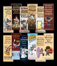 Munchkin Bookmark Collection Steve Jackson Games New