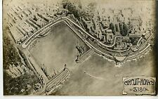 PHOTO ORIGINAL VINTAGE-G.P. AUTOMOBILE DE MONACO 1932-VUE AERIENNE DU CIRCUIT V2