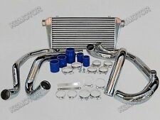 Intercooler Piping Kit For 95-00 SUBARU IMPREZA GC8 WRX STI with Tube & Fin IC