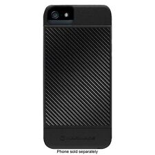 For iPhone 5/5S/SE Marware Revolution Carbon Fiber Case / Black / 3 Piece Cover