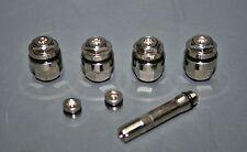 4 x válvulas llantas ocultos válvulas plata metal válvulas optivent escondido nuevo