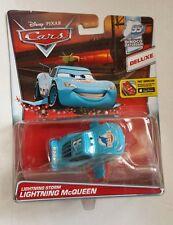 Disney pixar cars deluxe STORM MCQUEEN SAETTA 2016 DINOCO novita mattel maclama
