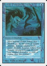 Merfolk of the Pearl Trident Unlimited MINT Blue Common MAGIC MTG CARD ABUGames