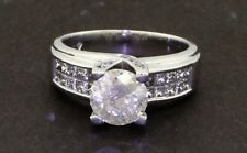 EGL 14k gold 2.27ct diamond wedding engagement ring 1.52ct center $9,460 retail