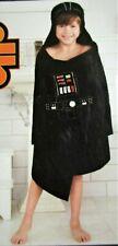 Disney Star Wars Darth Vader Hooded Bath Wrap Black New with Tags