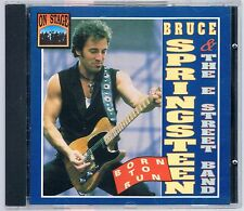 BRUCE SPRINGSTEEN  & THE  E STREET BAND BORN TO RUN ON STAGE CD