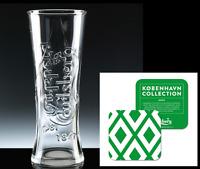 Carlsberg 1 Pint Lager Glass Personalised Birthday Xmas + GIFT Box + Beer Mat