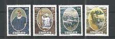 S.W.A 1986 KARAKUL INDUSTRY SG,463-466 UN/MM NH LOT 1173A