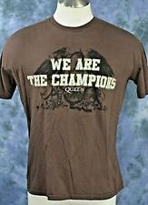 "Authentic Vintage Queen ""We are the Champions"" Tour Tee-Shirt 2007 Sz.large"