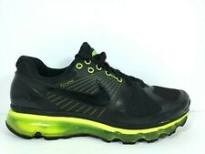 Nike Air Max 360 2010 Mens Size 9.5 Shoes Attack Pack Volt Black 386368 008
