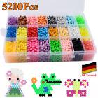 Bastelset 5200 Perlen Aqua Beads Glitzerperlen Nachfüllbox Beads Kinder Geschenk