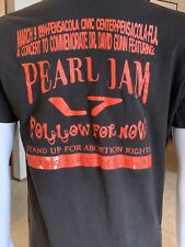 Pearl Jam & L7 - Rock For Choice Concert t-shirt - Anvil XL tag vintage tee 1994
