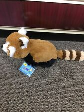 webkinz red panda(HM406)new with sealed code.