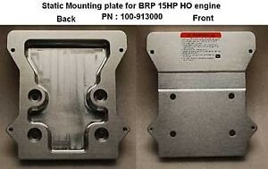 Bob's Machine Static Motor Plate BRP 15HP High Output Motor Only 100-913000-BLK