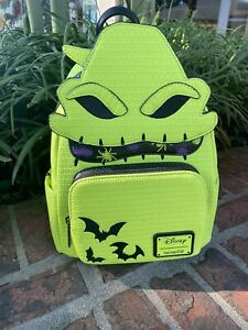 Oogie Boogie Loungefly Disney Mini Backpack Glow in the Dark Brand New With Tags