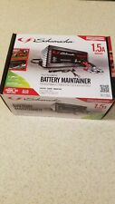 Schumacher Battery Charger / Maintainer 1.5 amp