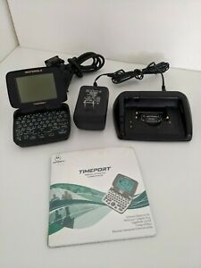 Vintage Motorola TIMEPORT p935 Pagewriter 2000 Two Way Pager untested