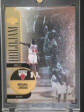 1997 MICHAEL JORDAN UPPER DECK HOLOJAM HOLOGRAM CARD SP Insert #1 Bulls