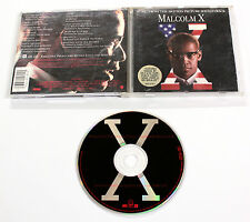 Various Artists MALCOLM X 1992 Warner CD COLONNA SONORA OST FILM
