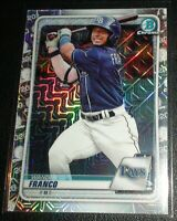 Wander Franco Rookie/Prospect  2020 Bowman Chrome Mojo Refractor BCP-1