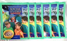 Houghton Mifflin Grade 1 Social Studies School & Family Set w/ Teacher Resources