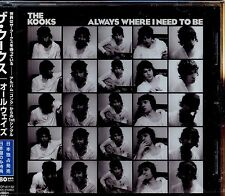 The Kooks / Always Where I Need To Be - Made In Japan - New & Sealed