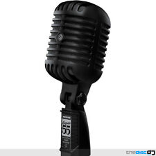 Shure Super 55 Deluxe Vocal Microphone - Limited Edition Pitch Black Elvis Mic